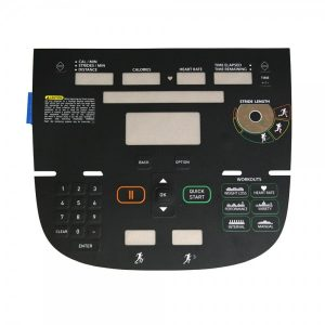 Precor AMT12 835 P30 Overlay/Keypad Assembly