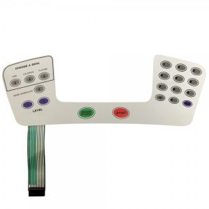 Stairmaster Overlay/Keypad Assembly D1 Console