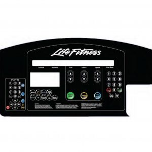 Life Fitness CLST & 97T Display Overlay